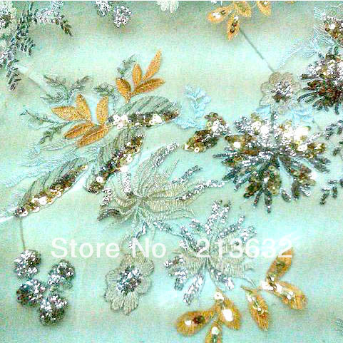 10 cm sample flocking hollandis real wax sequins dress charmeuse window curtain fabric wed flowers switzerland voile lace