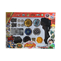 2016 Toy Beyblade Metal Spinning Tops Gyro Fusion 4D Set Spinning Top System LOOSE Battle Set For  Children Gift