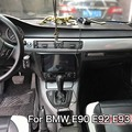 Auto-Styling Neue Auto Interior Center Konsole Farbe Ändern Carbon Faser Molding Aufkleber Decals Für BMW 3 Serie E90 e92 E93
