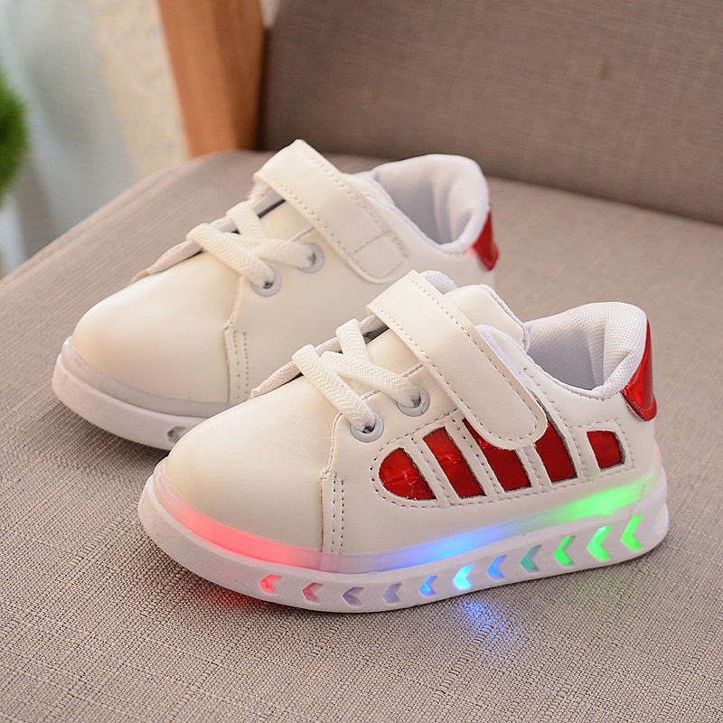 Toddler Shoes Baby-Boys Infant Sneakers Glowing Newborn First-Walk Girls And 1-To-3-Years-Old