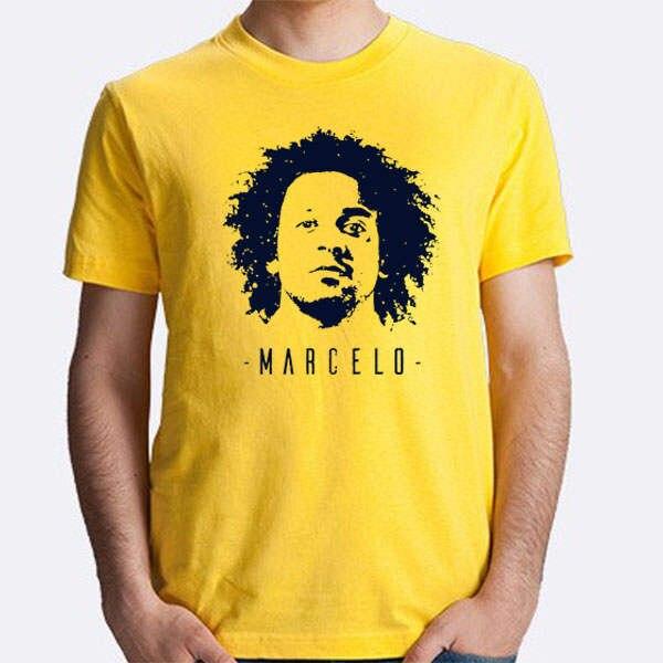 7f80f79854a placeholder T-shirt de manga Curta dos homens Marcelo Vieira da Silva Junior  BBC BRASIL Ronaldo