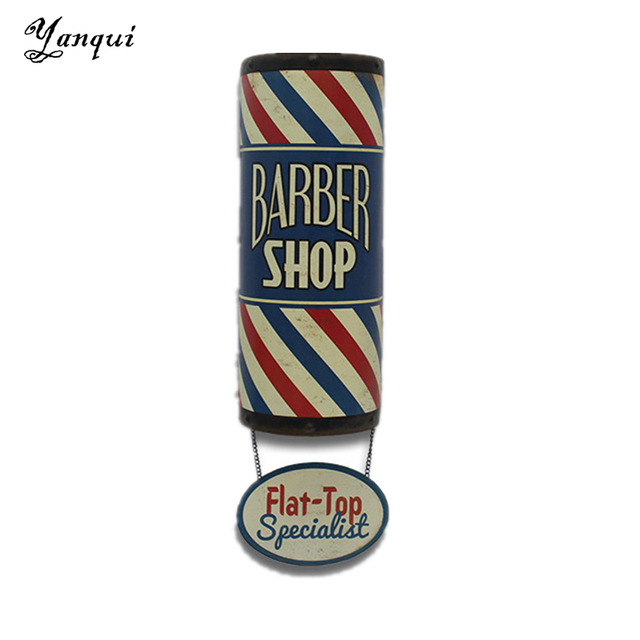 Flat Top Specialist Barber Shop Metal Signs Vintage Home Decor For ...