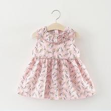 Summer 2018 Brand Baby Girls Dresses Newborn Infant Dress Fashion Cute Princess Party Dresses Toddler Girl Clothes Baby Clothing infant baby clothes brand design sleeveless print bow dress 2016 summer girls baby clothing cool cotton party princess dresses