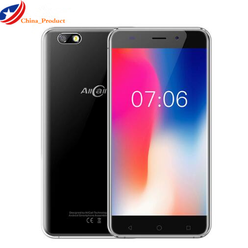 "Original AllCall Madrid Quad Core MTK6580A Android 7.0 Smartphone 5.5"" HD 3G Mobile Phone 8MP+2MP Cameras 2600mAh Cell Phones"