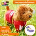 Robofish Dinosaurio Perro Robot Eléctrico Niños Juguetes Del Perro Puede Cantar música Y Torcer Su Culo Cuerda De Control Remoto Inteligente juguete