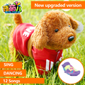 Robofish Robô Dinossauro Crianças Cão Elétrico Brinquedos Do Cão Pode Cantar música E Torcer O Rabo Corda Para Controle Remoto Inteligente brinquedo