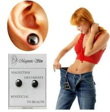 Magnetic Slimming Stud Earrings Slimming Patch Lose Weight Magnetic Health Jewelry Magnet fashion mini stud earrings