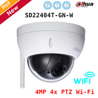 Dahua Speed Dome Camera SD22404T GN W 4MP 4x PTZ Wi Fi Network Camera Day Night