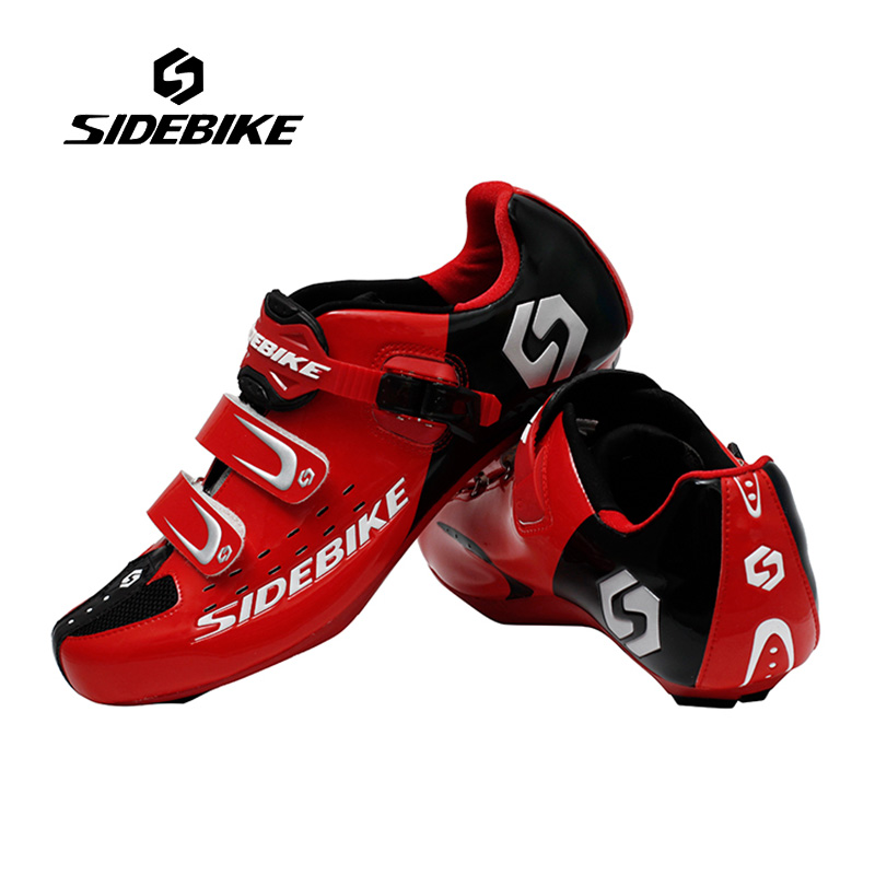 Sidebike Men Outdoor Cycling Shoes Road Bicycle Shoes Ultralight Self-locking Cycling Bike Shoes Sneakers Sapatos de ciclismo sidebike mens road cycling shoes breathable road bicycle bike shoes black green 4 color self locking zapatillas ciclismo 2016