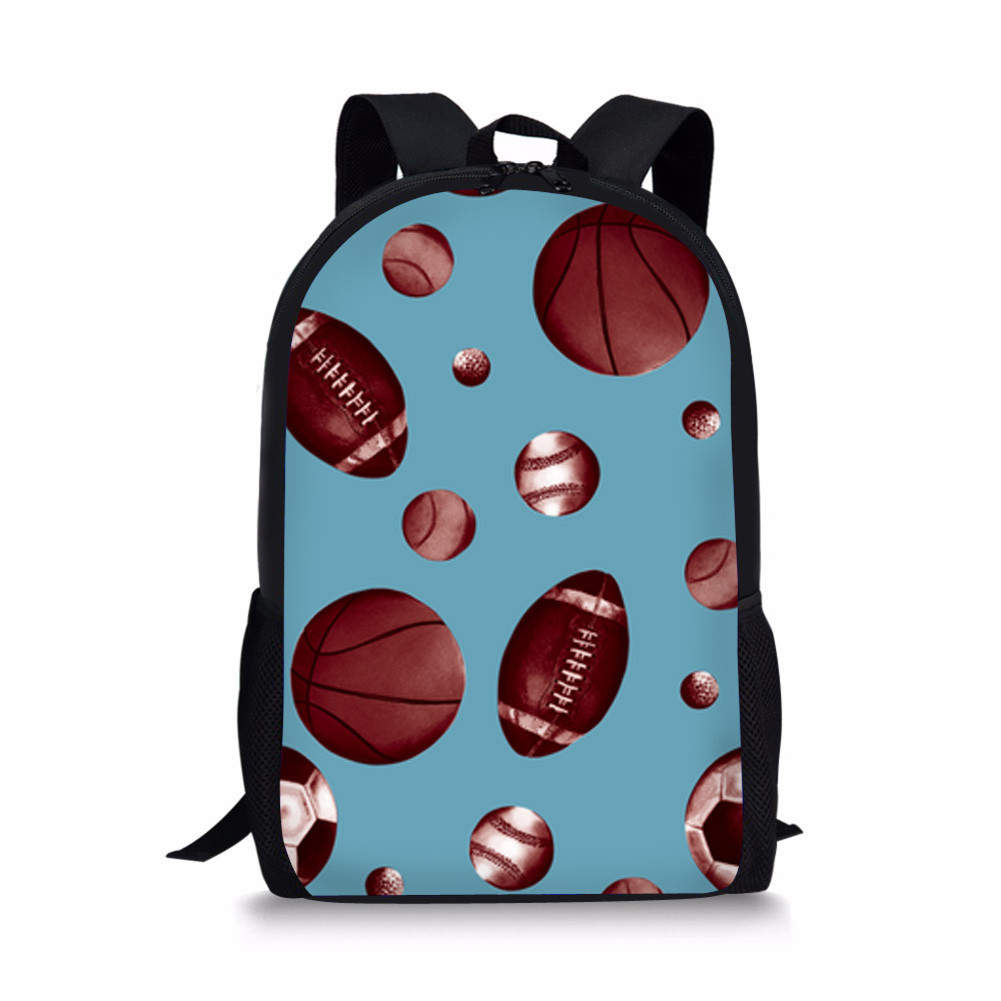 Lights & Lighting Loyal Customized Children School Bags Ball Designer Printing For Boys And Girls Satchel Schoolbag Kids Baby Bag Note Backpacks Infant High Standard In Quality And Hygiene