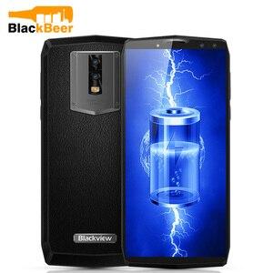 Image 1 - Blackview P10000 PRO смартфон MTK6763, Восьмиядерный, 5,99 дюйма, с сенсорным экраном, большой аккумулятор, Android 7,1, мобильный телефон, 4 Гб + 64 ГБ ROM, мобильный телефон