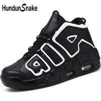 Hundunsnake 2018 Men Basketball Shoes Black Sport Shoes Men Sneakers High Top Mens Basketball Shoes For