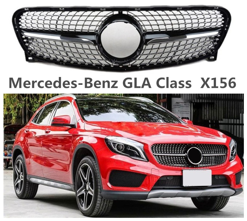 Front Grille Racing Grills For Mercedes Benz GLA Class