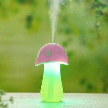 Humidifier Aroma Diffuser Mist Maker Ultrasonic Mushroom Lamp