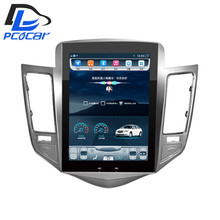 32G ROM Vertical screen android car gps multimedia video radio player  in dash for Chevrolet CRUZE navigation stereo