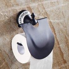 Черный Бронзовый Держатель Туалетной Бумаги Рулон Ткани Твердой Латуни Сделаны Ванная Настенные Красивые Аксессуары Продукты SY-079R