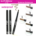 New Automatic Waterproof Eyebrow Pencil For Lady Makeup Beauty Tool Pen 5 Colors 1 Set Eyebrow Enhancers cosmetic KY-896
