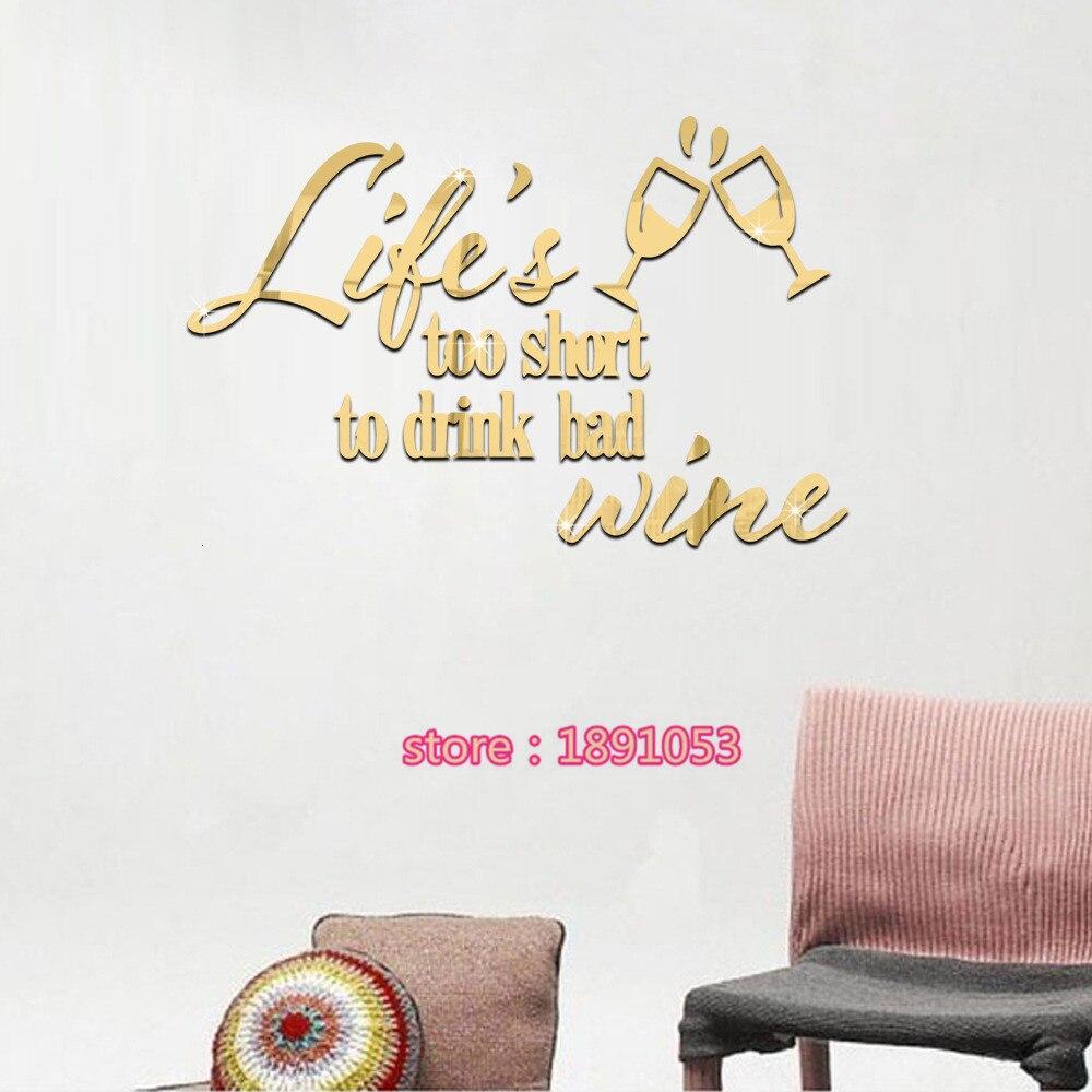 Furniture advertising slogans - Carpe Diem Living Writing Slogans Mirror Affixed Marriage Room Bedroom Living Room Sofa Tv Background Wall