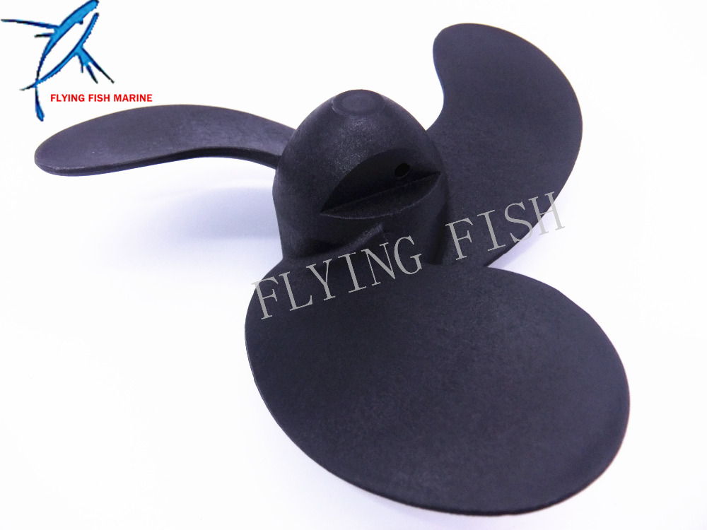 309-64106-0 30964-1060M Outboard Motor Plastic Propeller for Nissan Tohatsu 2.5HP 3.5HP / Mercury 3.3HP / Johnson Evinrude 3.3HP