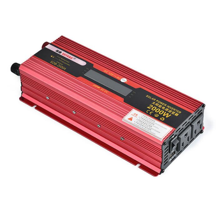 все цены на 2000W WATT Peak Car LED Power Inverter DC 12V 24V to AC 110V Dual Converter Charger онлайн