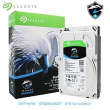 Seagate skyhawk interno st4000vx007 4 tb hdd vigilância por vídeo 5900 rpm disco rígido 3.5