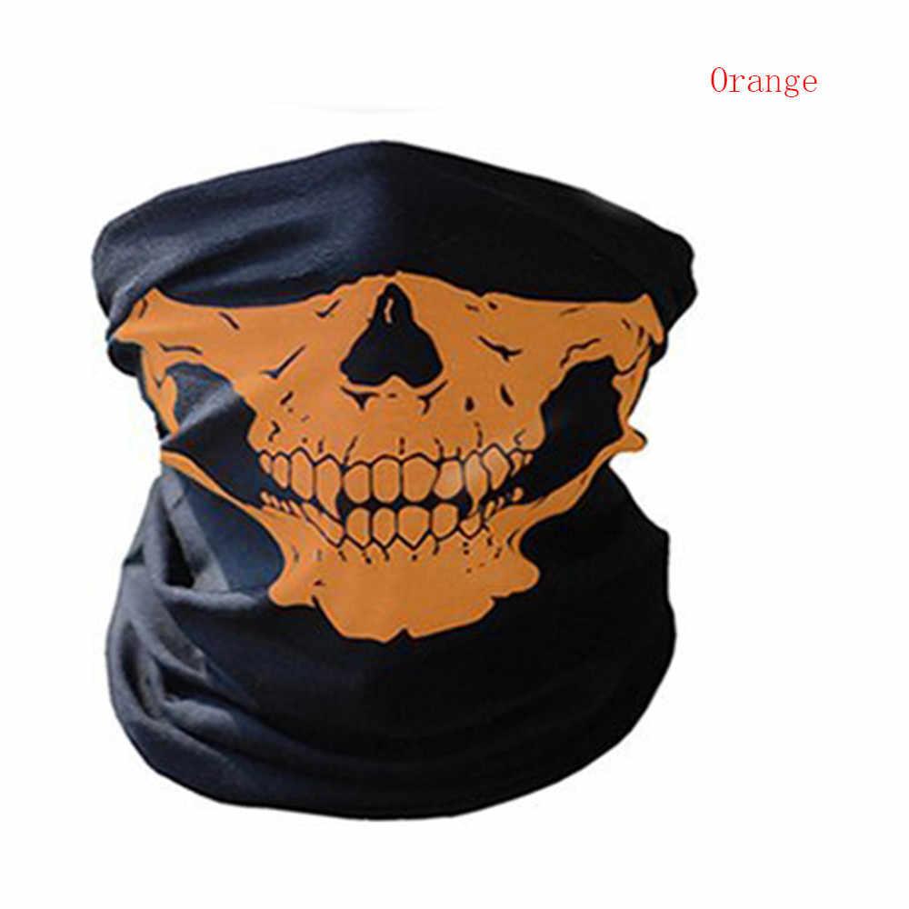 Ciclo de Bicicleta pirata Crânio Cachecol Cachecol Magia Rosto Máscara do Disfarce Das Mulheres Dos Homens CS Equipamento de Equitação bandana Metade Máscara Facial Máscara de Halloween