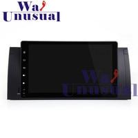 WANUSUAL 9 Полный сенсорный Панель Android 7,1 автомобиль радио плеер gps навигации для BMW 5 серии E39 для BMW X5 E53 с 4 ядра 16 Гб