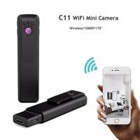 C11 Mini Camera Full Hd 1080P Pen Camera Night Vision Motion Detection Sens Mini Dvr Wi Fi Smartphone App Review H.264 Camera