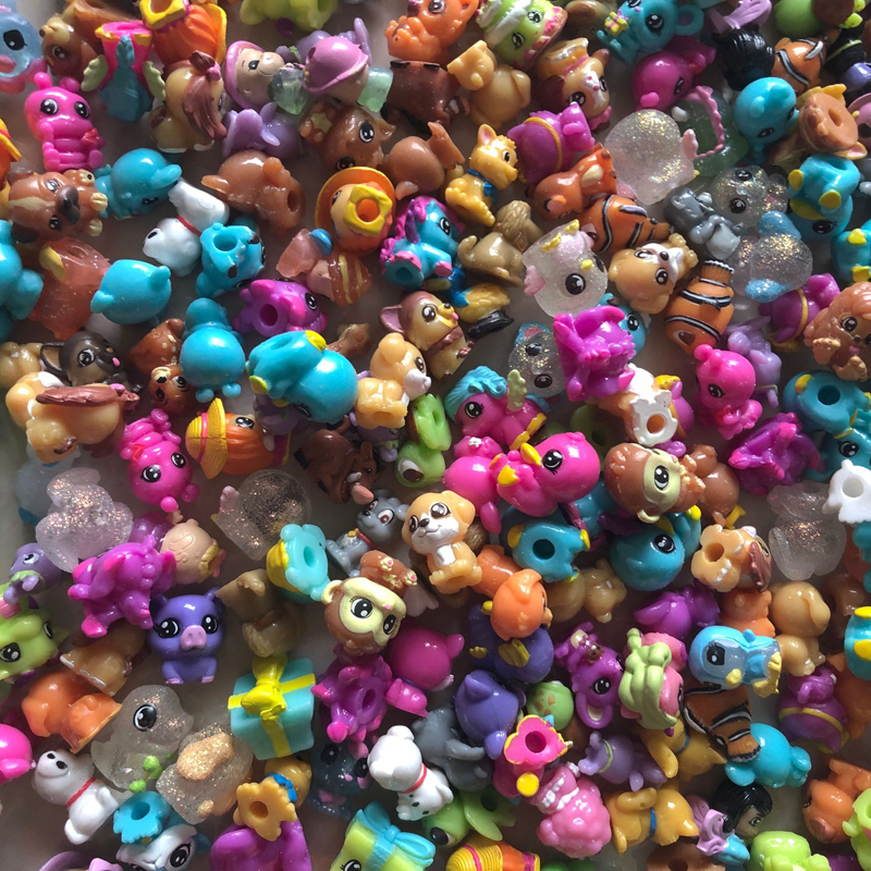 30Pcs Soft Mixed SQUINKIES Toys Lot In Random With NO CONTAINERS