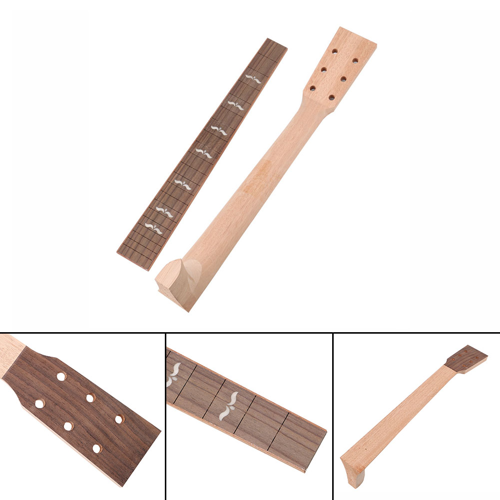 New Arrival Solid Mahogany Acoustic Guitar Neck And Rosewood Guitar Fretboard For Acoustic Guitar acoustic