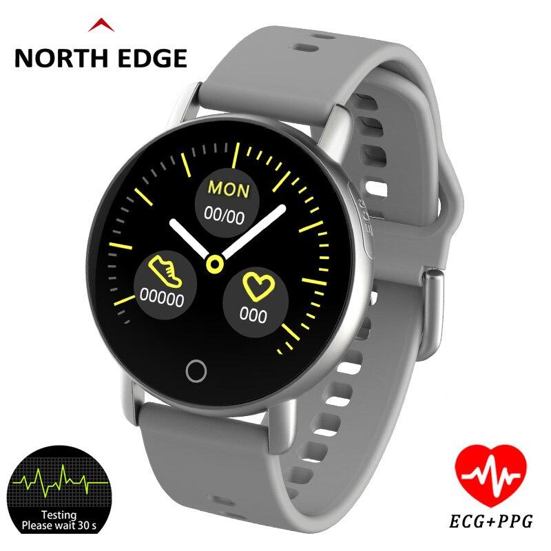 Smart Watch Ppg Ecg Blood Pressure Heart Rate Monitor Ip67 Waterproof Men Women Digital Watch Wristband Activity Fitness Tracker Smart Watches Aliexpress