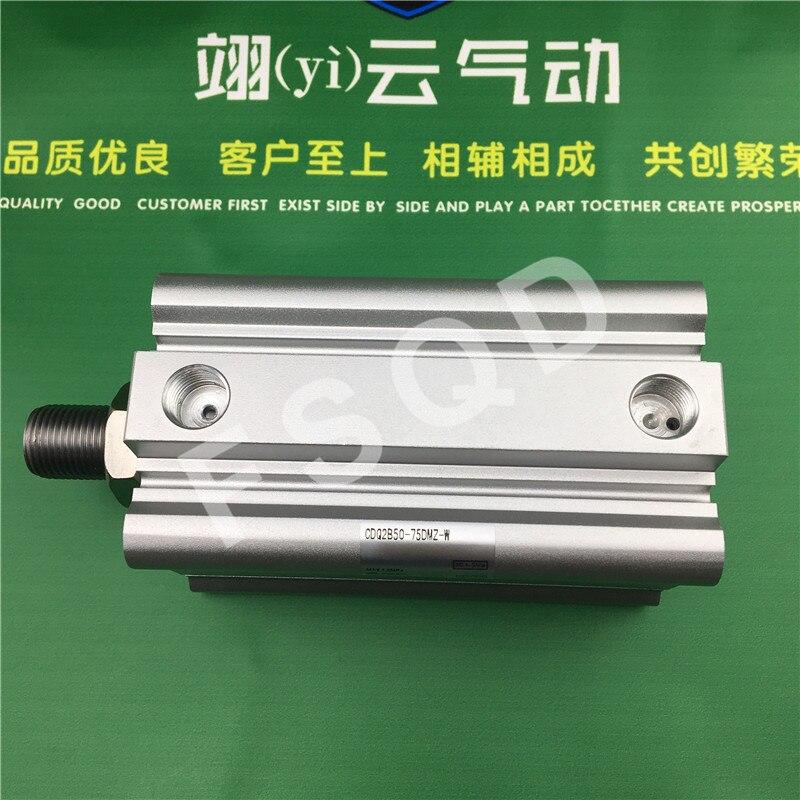 CDQ2B50-75DCMZ CDQ2B50-100DCMZ CDQ2B50-75DMZ-W SMC pneumatics pneumatic cylinder thin cylinder
