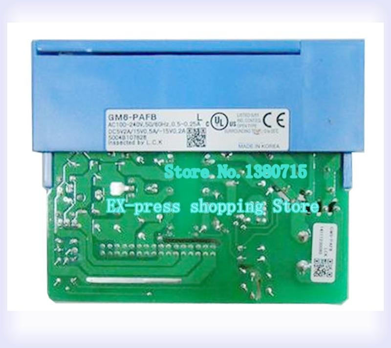 100~240VAC 5VDC(2A) / +15VDC(0.5A) / -15VDC(0.2A) GM6-PAFB PLC Power module K200S gm6 pafb new and original ls lg power supply module inputs ac100 240v outputs dc5v 3a dc15v 0 2a for ad da