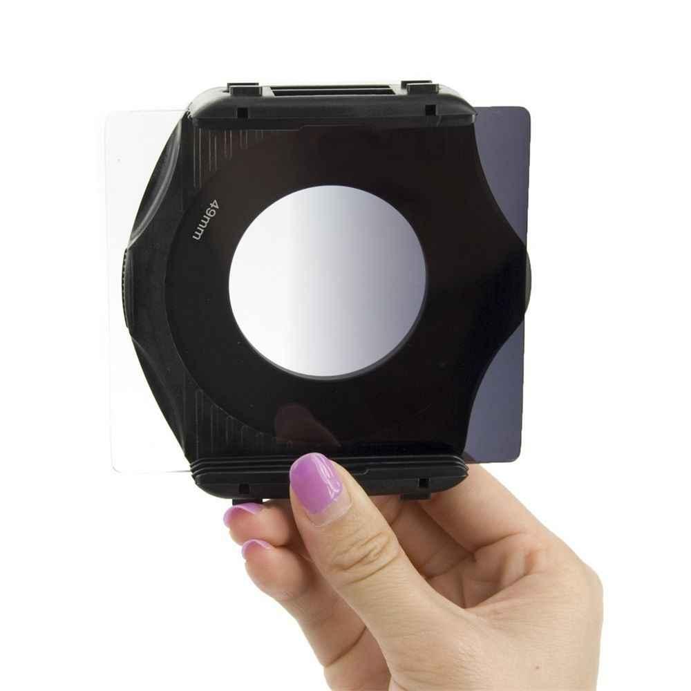 Zomei 40in1 กล้อง Filtro Neutral Density ชุดสี ND กรองผู้ถือ Cokin P Hood แหวนอะแดปเตอร์สำหรับ DSLR