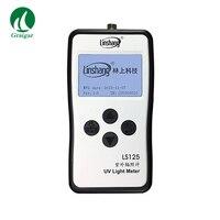 Linshang прямые продажи LS125 УФ счетчик радиометр Тесты ультрафиолетового излучения Мощность энергии светодиодный светильник Поддержка 9 зонд С