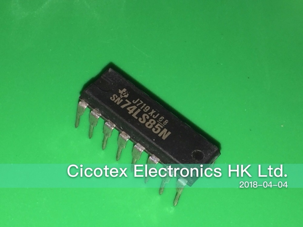 Circuito integrado DIP-16 SN74LS85N 74LS85
