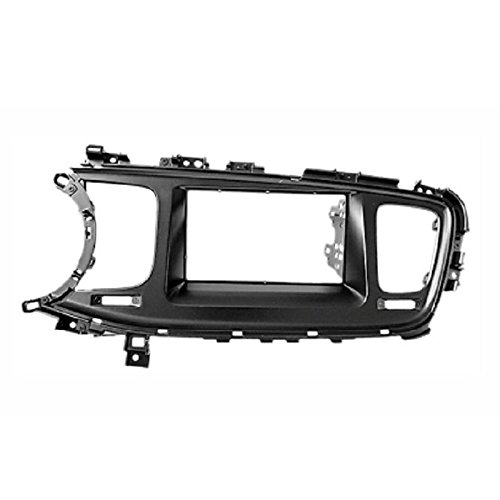 2 Din Car Radio Stereo Fascia Panel Frame DVD Dash Installation Kit for KIA Optima III (Tf), K5 2013+ (Left Wheel) with 178*102m ityaguy fascia for ford ranger 2011 stereo facia frame panel dash mount kit adapter trim