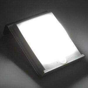 Image 5 - 2 uds, Nueva Generación, 16 LED, energía Solar, Sensor de movimiento por infrarrojos PIR, lámpara de seguridad para jardín, luz exterior para decoración de jardín