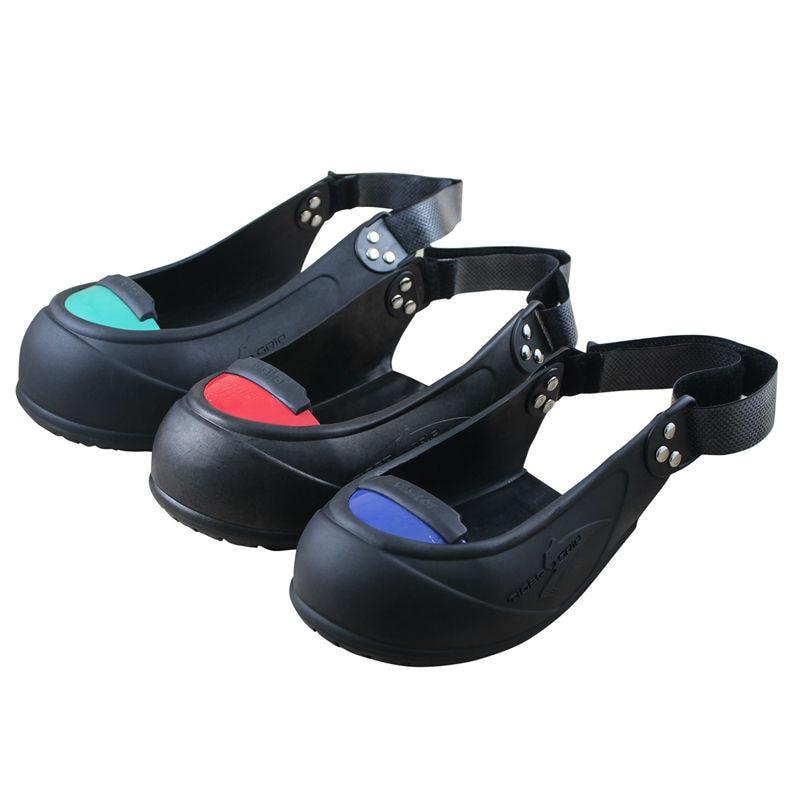 7c7e816107fd Protetor do dedo do pé de sapato cobre galochas visitante aço francês mulher  sapato sola de borracha antiderrapante sapatos de segurança do trabalho  para o ...