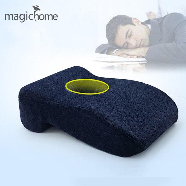Memory Foam Pillow Slow Rebound Neck Cushion Office Nap Sleeping Pillows Car Kids Travel For