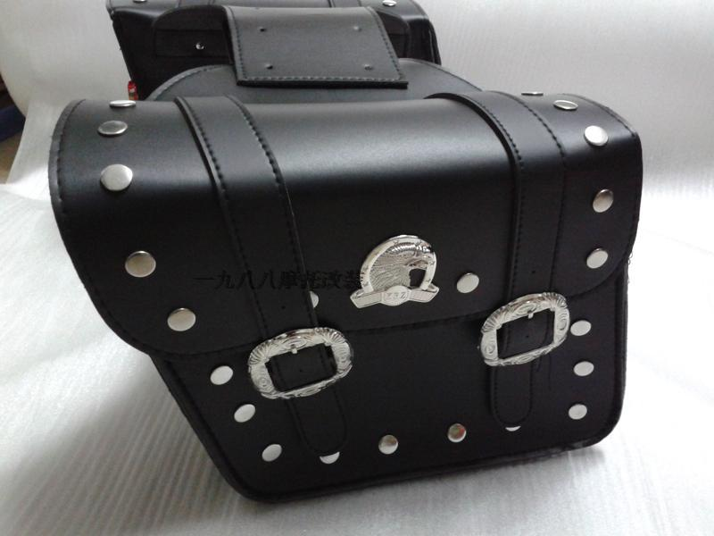 Motorcycle modified motorcycle side box hanging box rear side bag Bag riding side box package modification