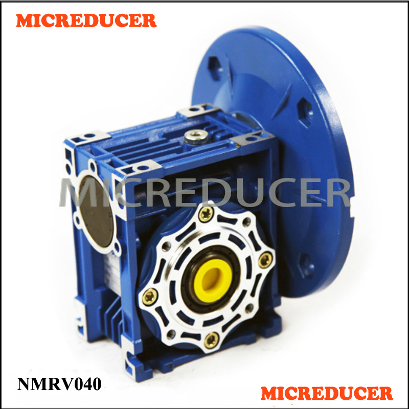 NMRV 040 Worm Gear Gearbox Equivalent to Motovario worm gear reducer NMRV040