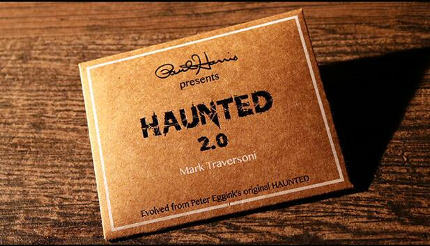 Paul Harris Presents Haunted 2.0 (Gimmick And Online Instructions) By Mark Traversoni And Peter Eggink,Magic Props,Magic Tricks