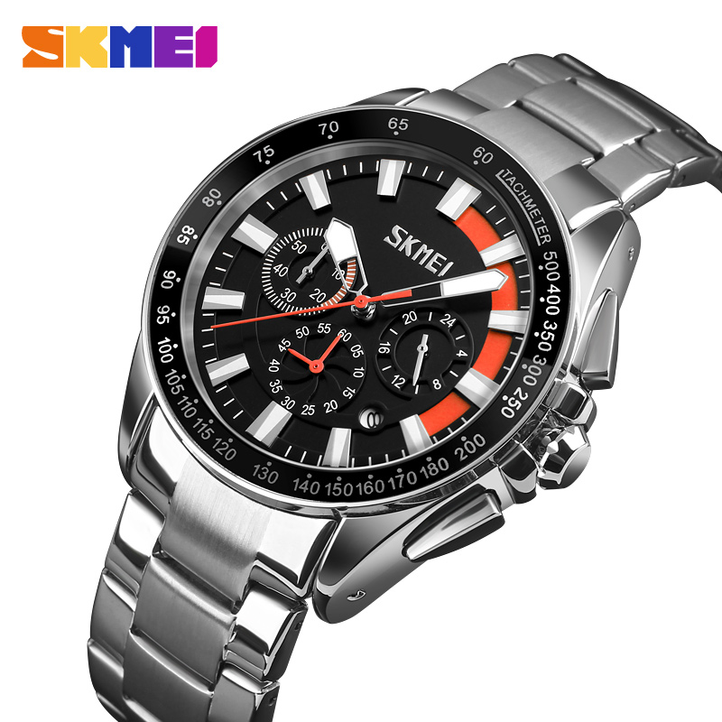 SKMEI Watch Men Fashion Sports Quartz Mens Watches Top Brand Luxury Business Male Clock erkek kol saati Relogio Masculino 9167 2017 mens business watches top brand luxury chronograph watch sport quartz wrist watch men clock male relogio erkek kol saati