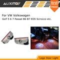 LED Door Warning Light With Logo Projector For VW Golf 5 6 7 Jetta MK5 MK6 MK7 CC Tiguan Passat B6 B7 Scirocco