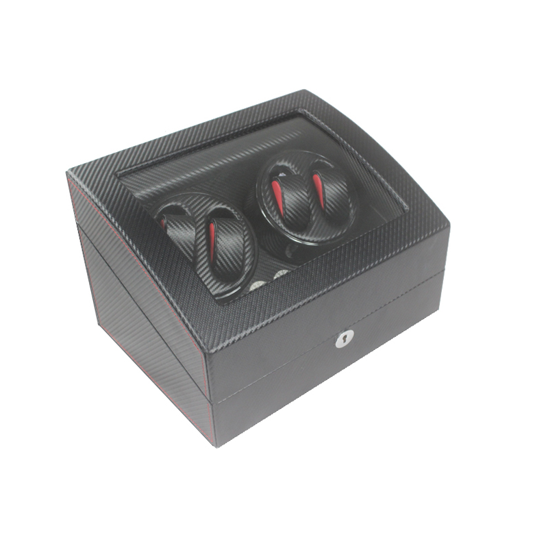 Watch Winder, LT Wooden Automatic Rotation 4 + 6 Watch Winder Storage - Tillbehör klockor - Foto 1
