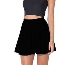 2016 New Fitness Black Milk Skort candy color Women s Flounce Pure Color Tennis Skirt font