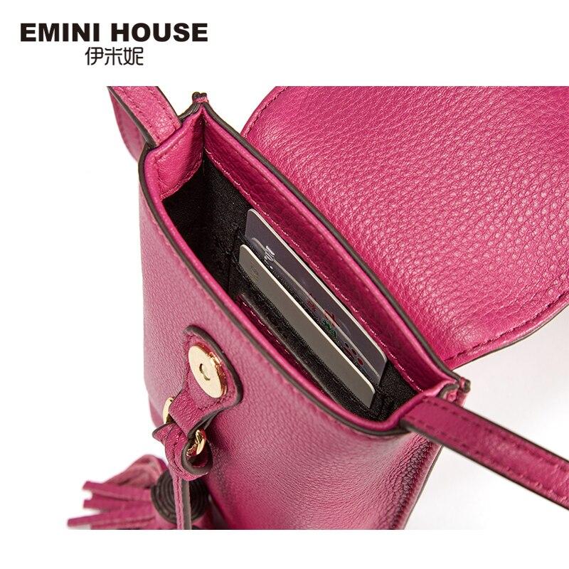 emini casa 8 cores genuíno Color : Orange Pink/purple Red/grey Blue/black