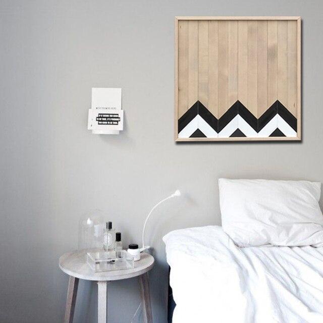 Minimalistischen Malerei Nordic Wohnzimmer Malerei Kalten Wind Dekoration  Malerei Holz Malerei Kunst Geometrische Muster