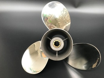 9 1/4X10 STAINLESS STEEL Propeller Force propellers 9.9HP-15HP Outboard Engine Propeller Force marine propeller 8 tooth